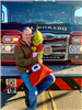 Grinch with Fire Truck