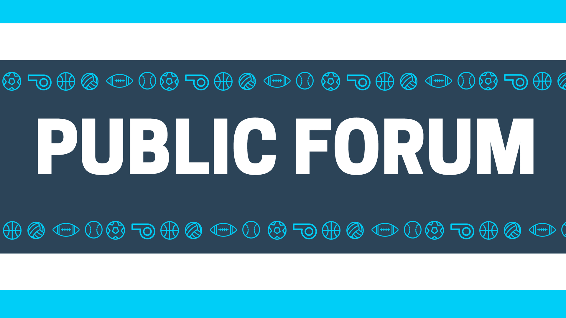 Rec Public Forum Facebook Event Cover