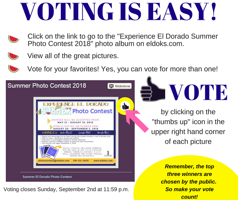 Voting is easy!