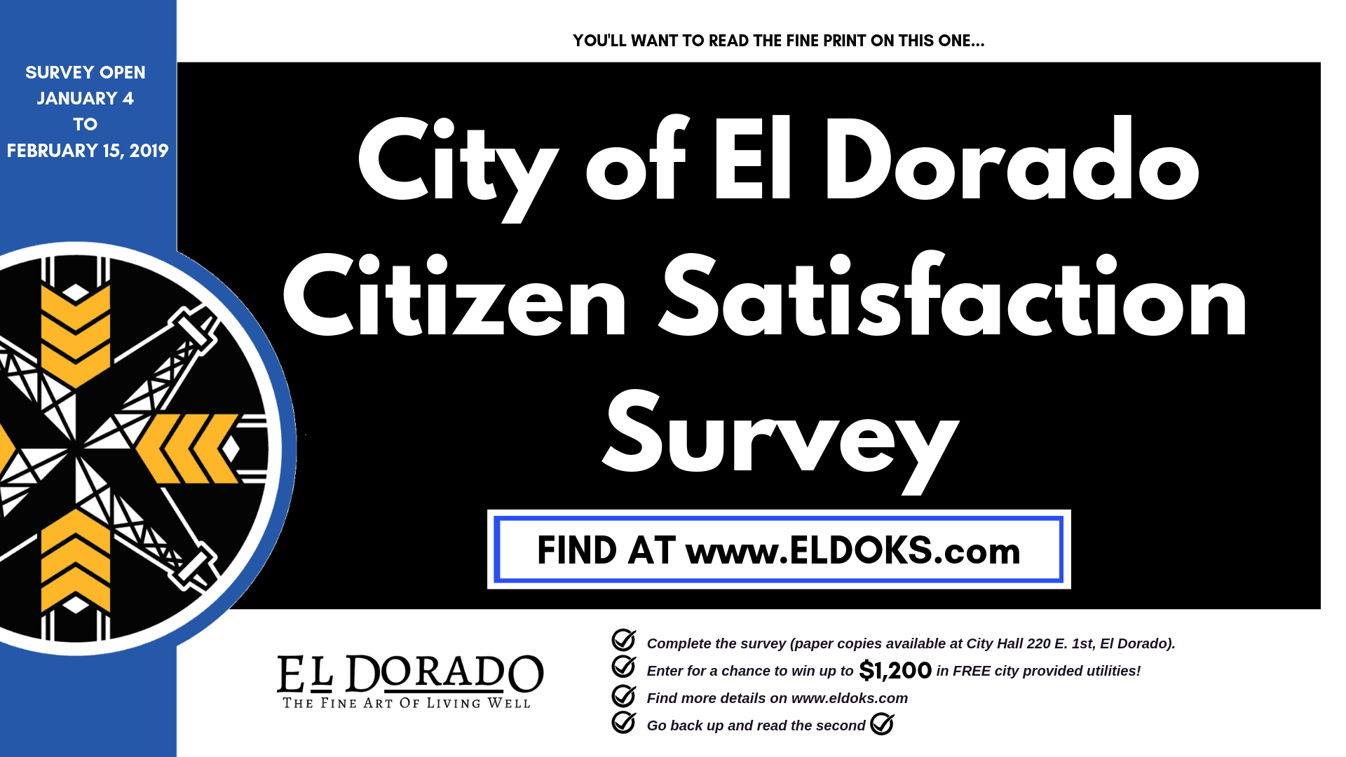 City of El Dorado Citizen Satisfaction Survey (5)
