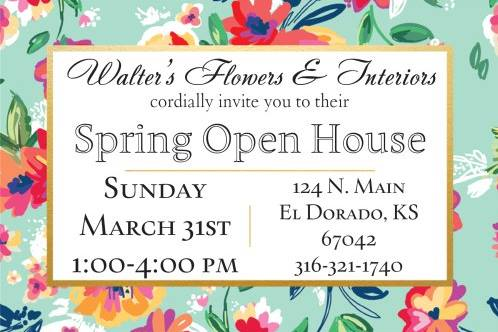 Walters Spring Open House