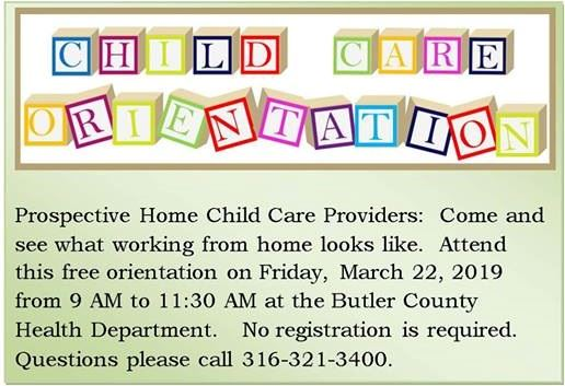 Child Care Orientation