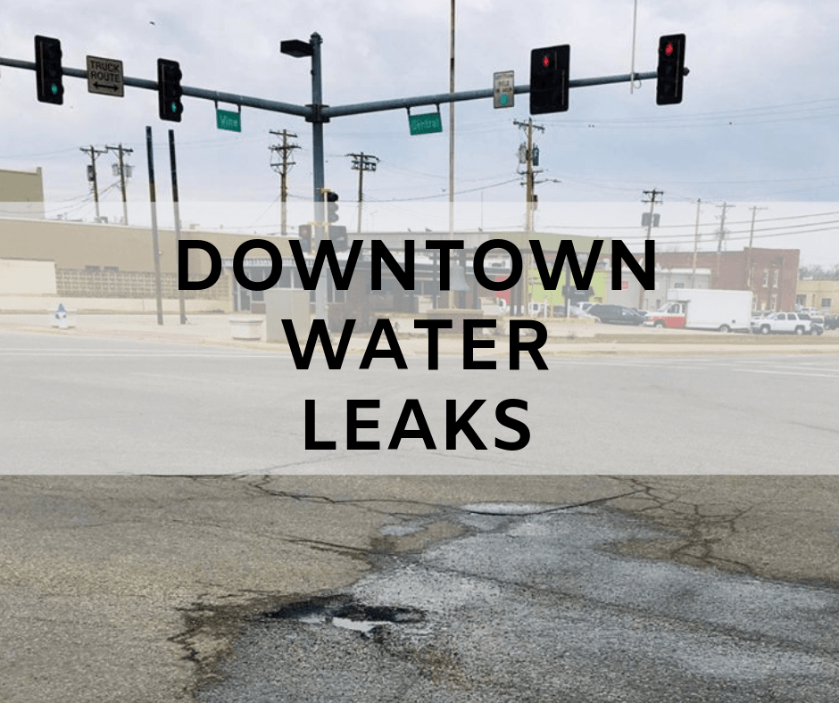 Downtown Water Leaks