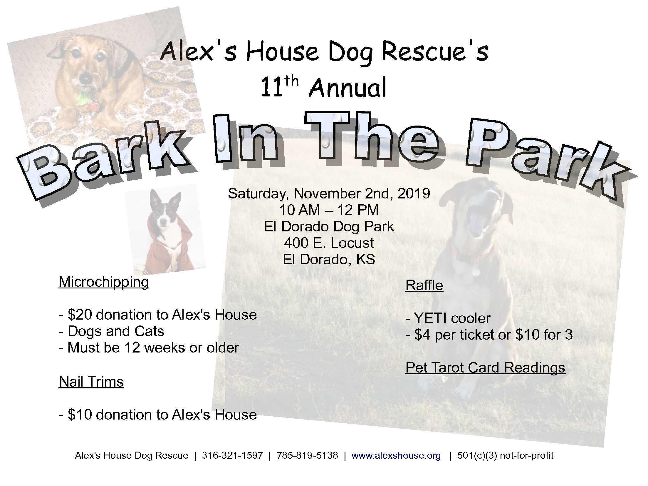 11.2.19 Bark in the Park