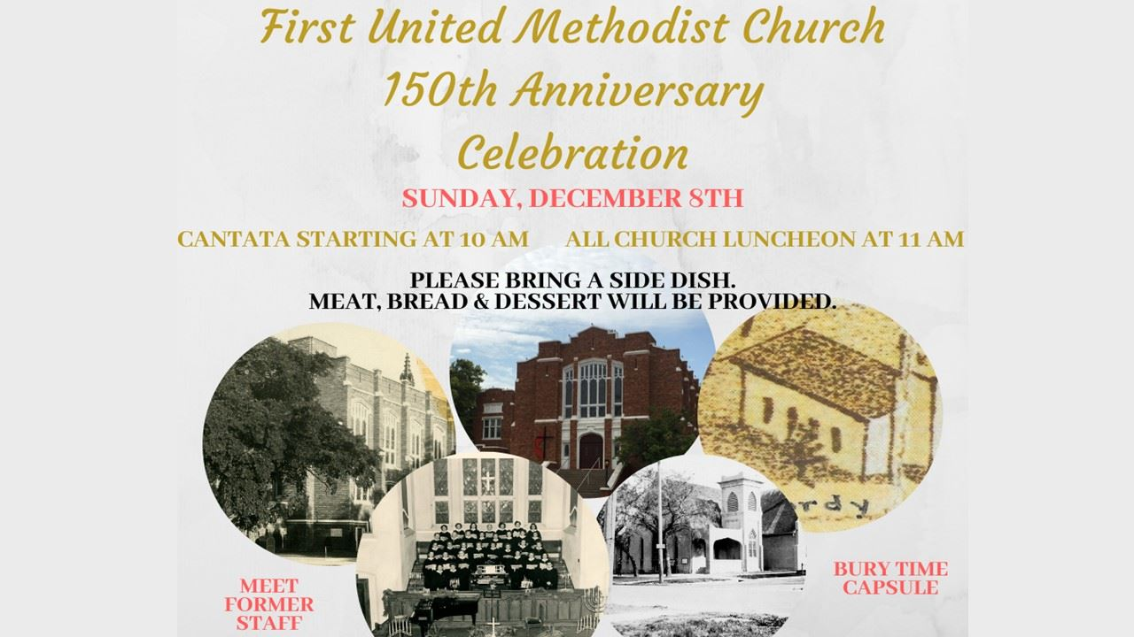 12.8.19 FUMC 150th Anniversary Celebration