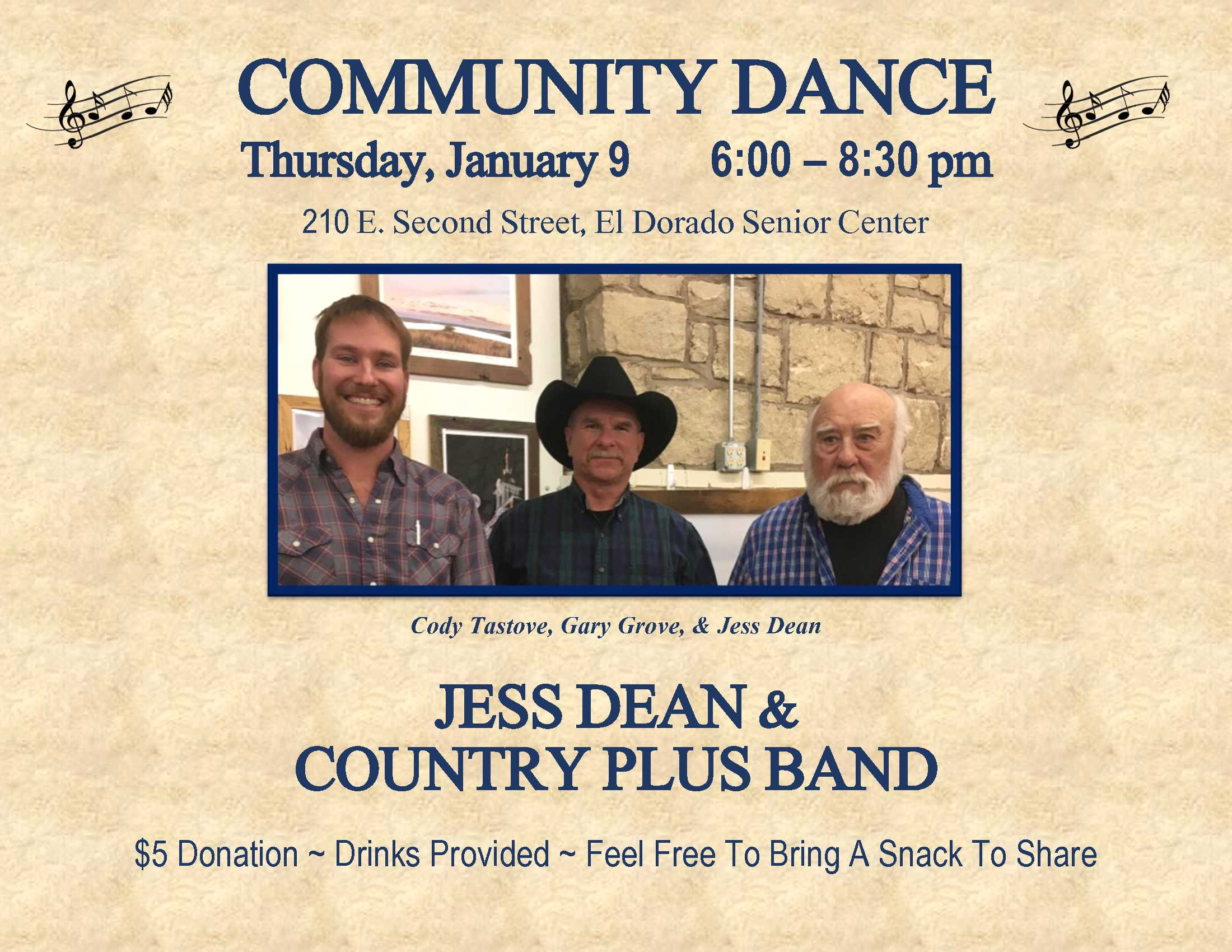 2020-01-09 Dance - Jess Dean  Country Plus Band