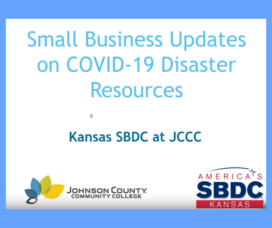 Small Business COVID Disaster Resources