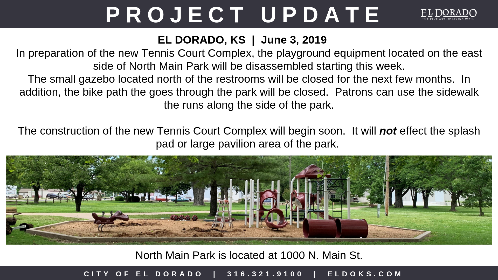 North Main Park update 6.3.19