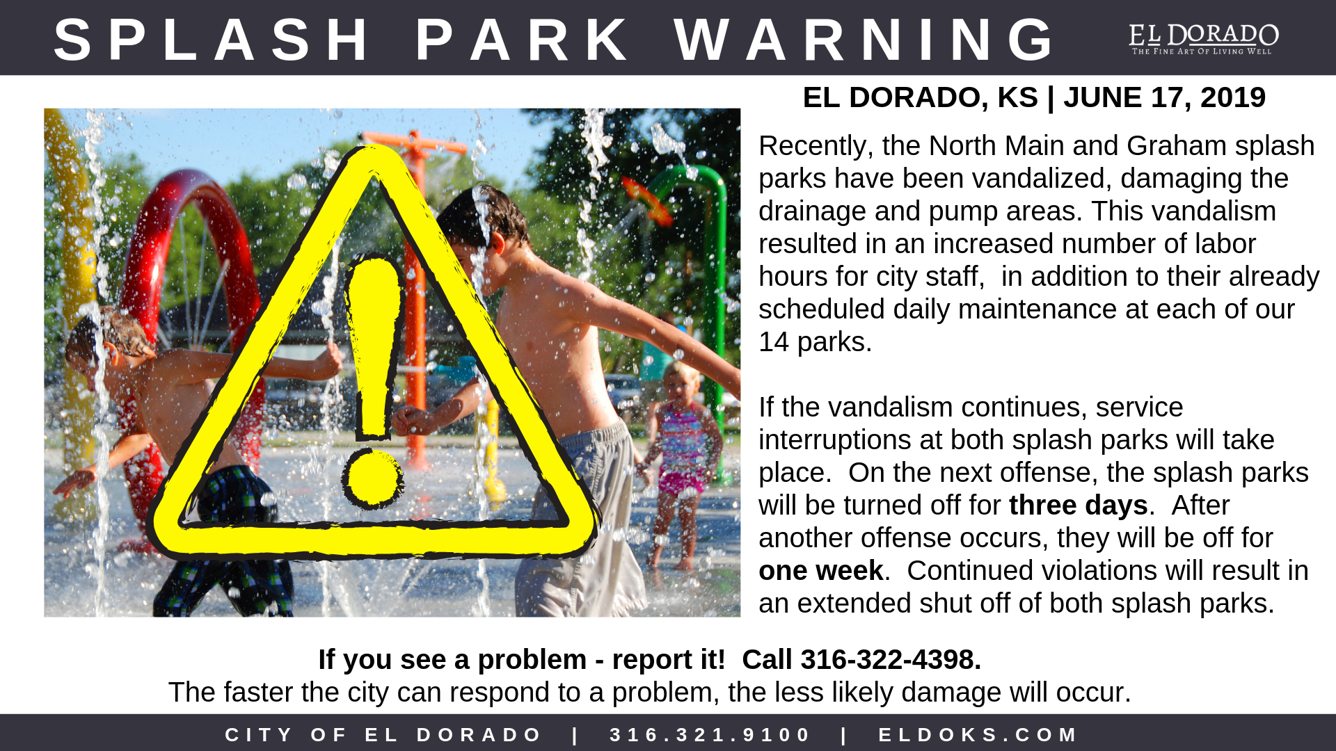 Splash Park Warning 6.17.19 (2)