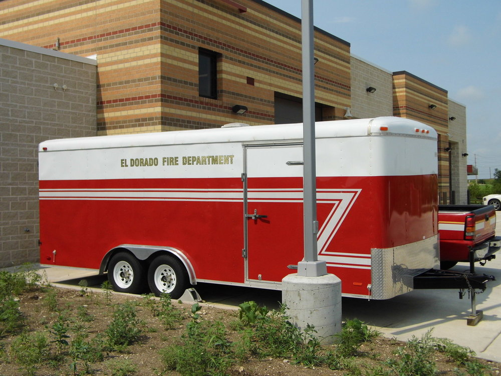 Hazardous Response Unit Trailer