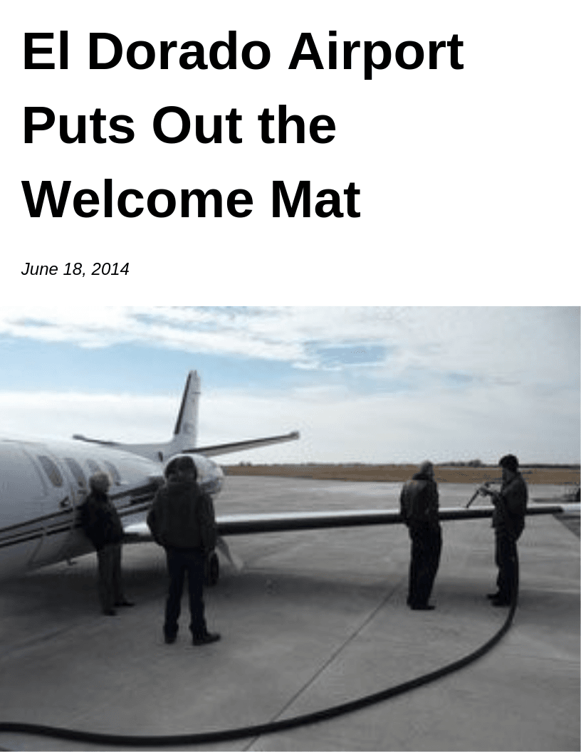 El Dorado Airport Puts Out the Welcome Mat