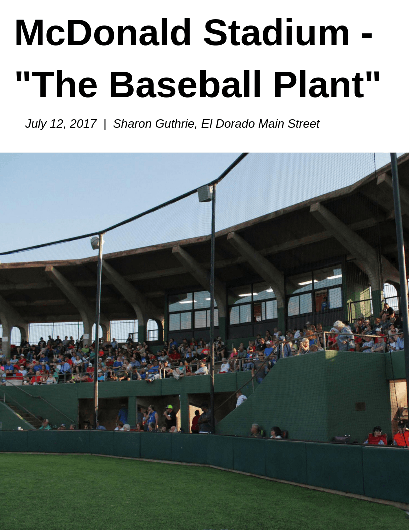 McDonald Stadium - The Baseball Plant